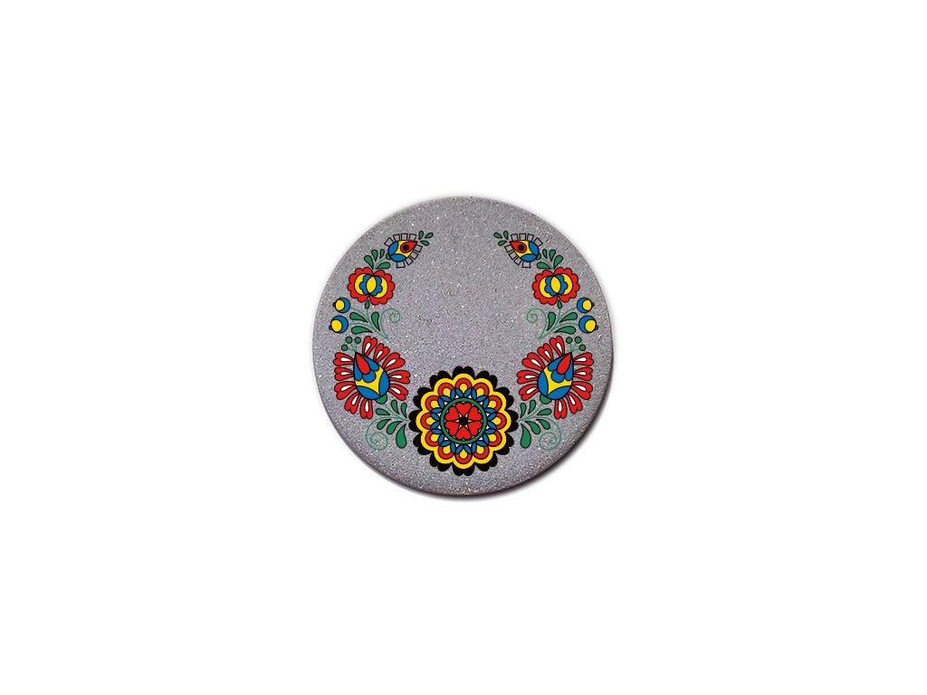 Reflexný odznak folklor ornament