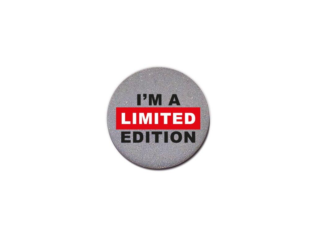 reflexný odznak I´m limited edition