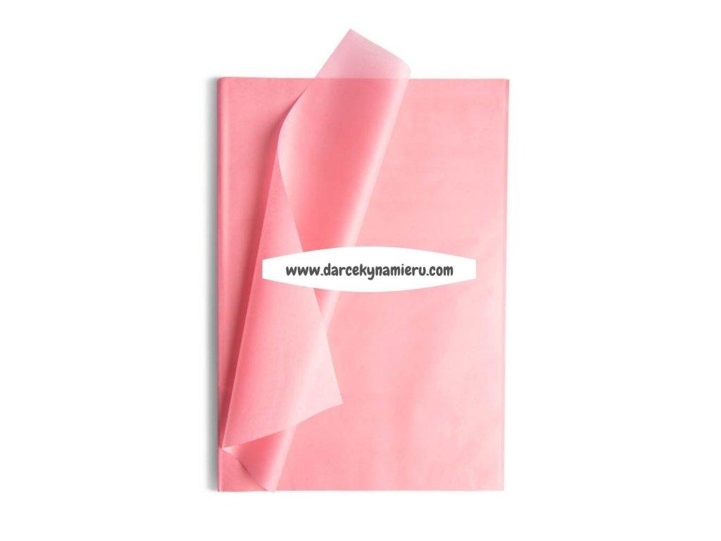 Hodvábny papier ružový