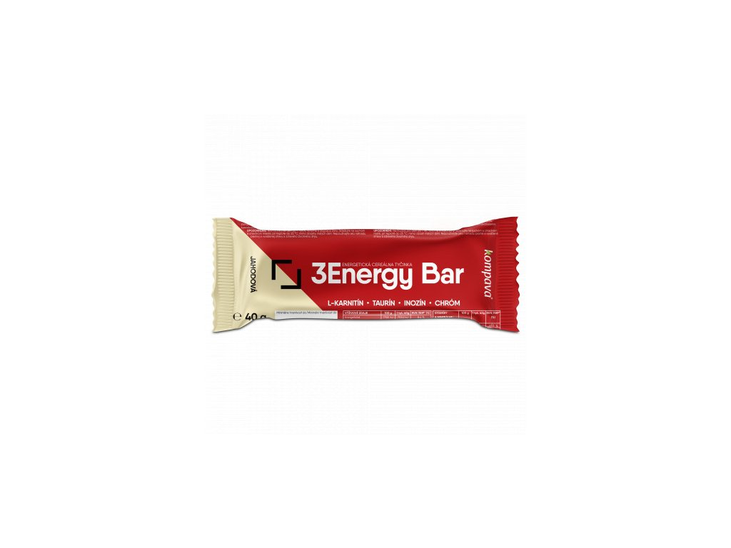 kompava energy bar tycinka jahoda biela cok 1ks