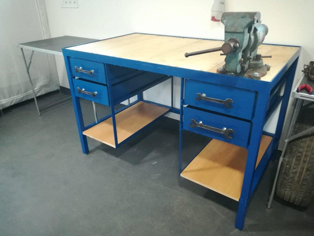 Pracovný stôl do garáže, do dielne na mieru PONK