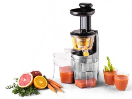 Fruitpresso odšťavovač Nero II nerezový Klarstein 6