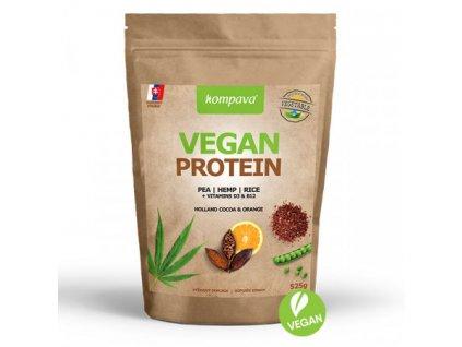vegan protein cokolada pomaranc