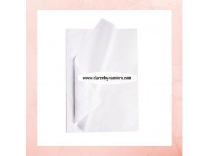 Hodvábny papier biely